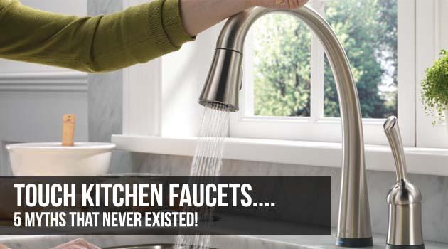 Touch Sensitive Kitchen Faucets