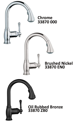 Grohe 33 870 000 Bridgeford Dual Spray Pull Out Kitchen Faucet Review Kitchen Faucet Reviews Pro