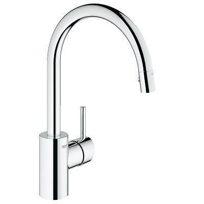 Grohe 32665001 Concetto Kitchen Faucet Review Kitchen Faucet Reviews Pro