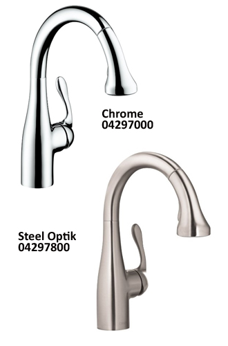 Hansgrohe 04297000 04066000 Allegro E Gourmet Kitchen Faucet Review Kitchen Faucet Reviews Pro