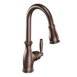 Moen Brantford One Handle High Arc Pull Down Kitchen Faucet