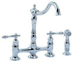 Pegasus Lyndhurst Series Two Handle Kitchen Faucet